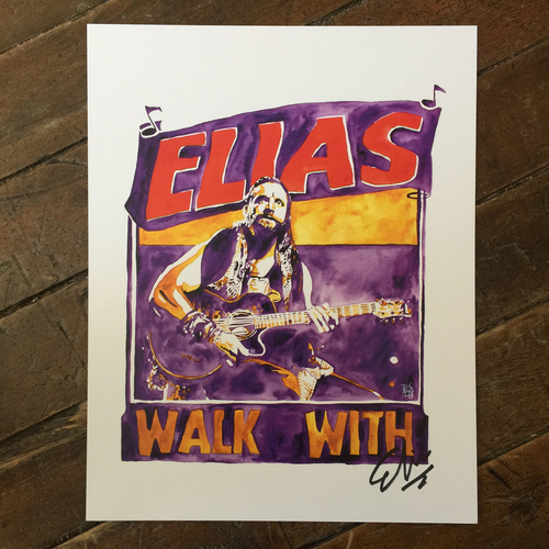 Photo of Elias SIGNED 11 x 14 Rob Schamberger Print