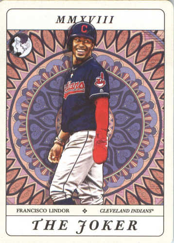 Photo of 2018 Topps Gypsy Queen Tarot of the Diamond #TOD7 Francisco Lindor