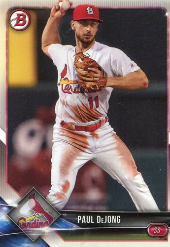 Photo of 2018 Bowman #84 Paul DeJong