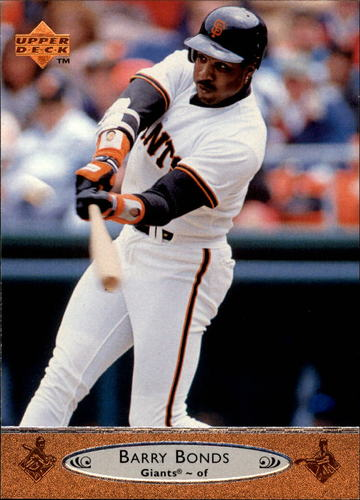 Photo of 1996 Upper Deck #195 Barry Bonds
