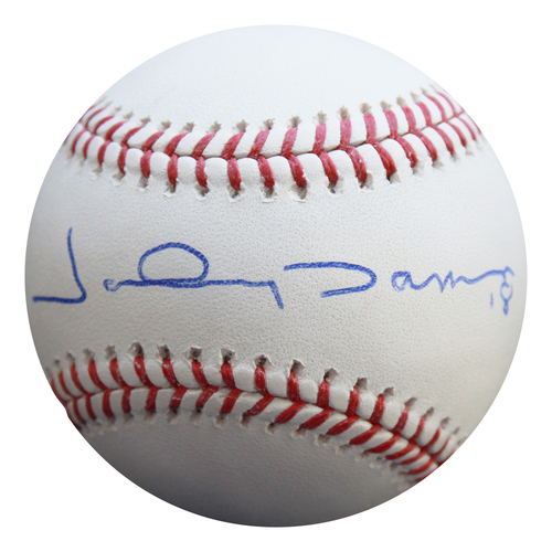 Photo of Autographed Baseball: Johnny Damon