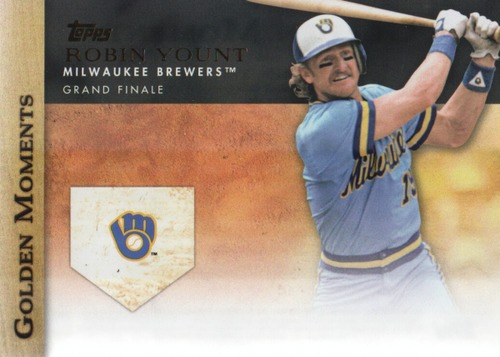 Photo of 2012 Topps Update Golden Moments #GMU26 Robin Yount