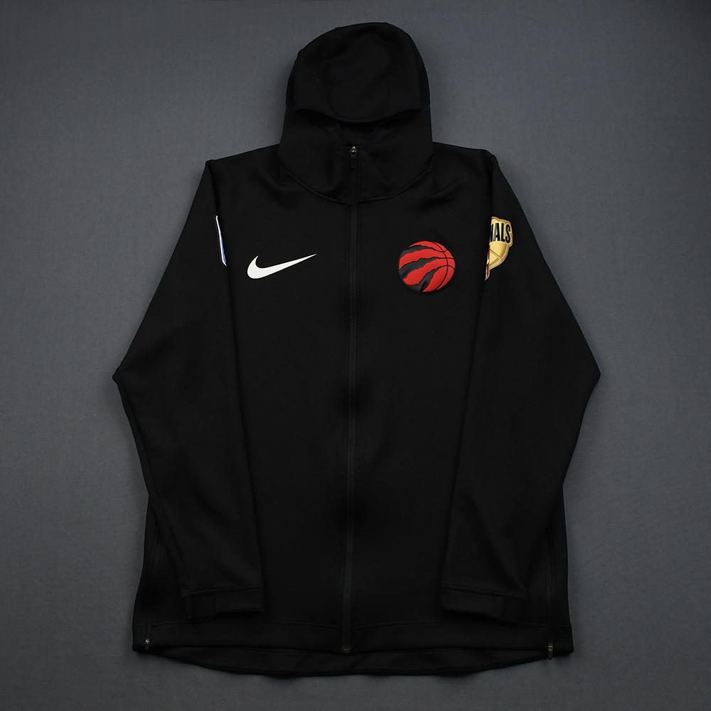 Kawhi Leonard - Toronto Raptors - 2019 NBA Finals - Game 3 - Warmup-Worn Hooded Warmup Jacket