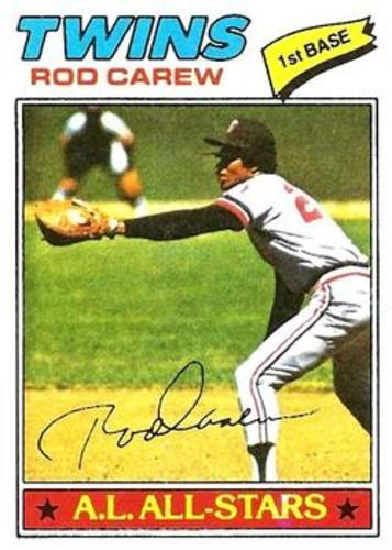 Photo of 1977 Topps #120 Rod Carew