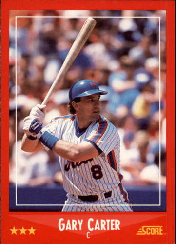 Photo of 1988 Score #325 Gary Carter