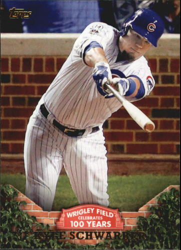 Photo of 2016 Topps 100 Years at Wrigley Field #WRIG32 Kyle Schwarber