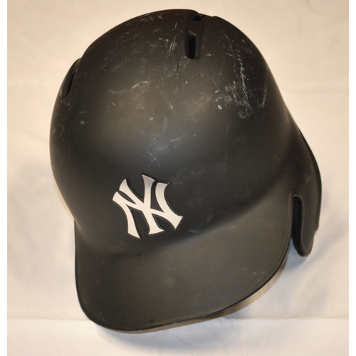 "Photo of Aaron ""BAJ"" Judge New York Yankees Game-Used 2019 Players' Weekend Helmet"