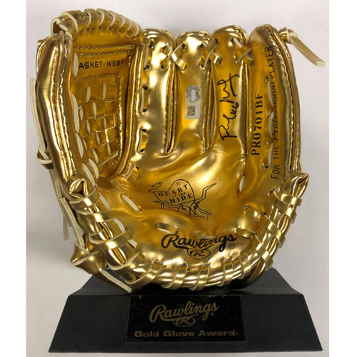 Photo of Cardinals Authentics: St. Louis Cardinals Paul Goldschmidt Autographed Mini Gold Glove