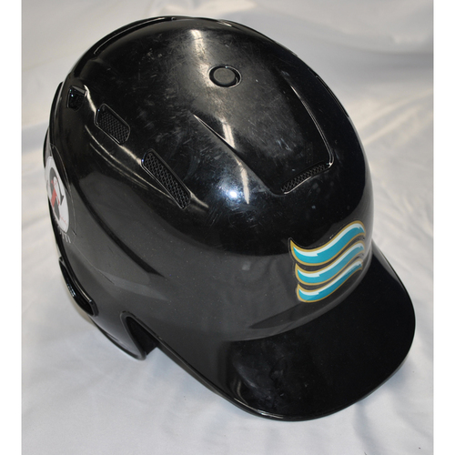 Photo of Arizona Fall League - Game-Used Batting Helmet - Player Name: Royce Lewis (MIN) - Jersey Number: 9