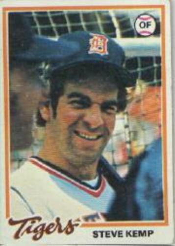 Photo of 1978 Topps #21 Steve Kemp
