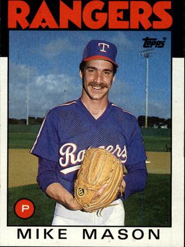 Photo of 1986 Topps #189 Mike Mason