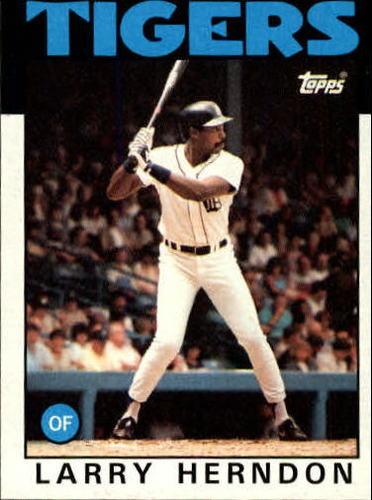 Photo of 1986 Topps #688 Larry Herndon