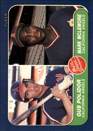 Photo of 1986 Fleer #650 Mark McLemore RC