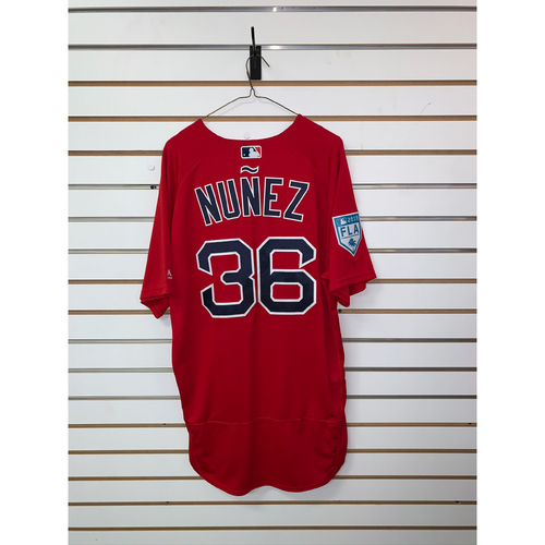 Photo of Eduardo Nunez Team Issued 2019 Spring Training Jersey