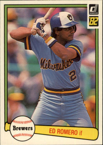 Photo of 1982 Donruss #536 Ed Romero