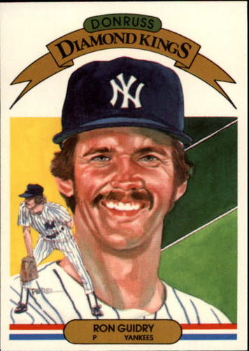 Photo of 1983 Donruss #17 Ron Guidry DK