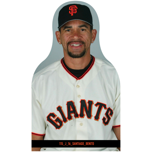 Photo of Giants Community Fund: Giants Benito Santiago Cutout