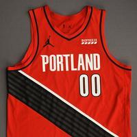 Carmelo Anthony - Portland Trail Blazers - Game-Worn Statement Edition Jersey - 2021 NBA Playoffs
