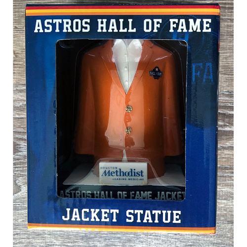 Photo of UMPS CARE AUCTION: Houston Astros Hall of Fame Jacket Statue