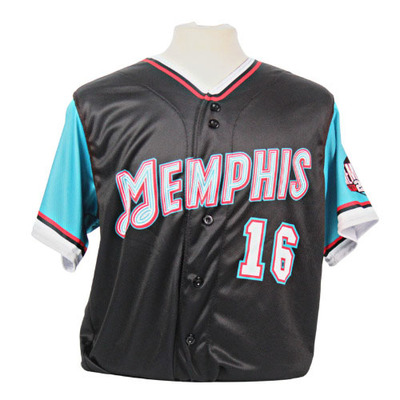 Brandon Waddell Autographed Game-Worn 2021 Grizzlies-themed Jersey