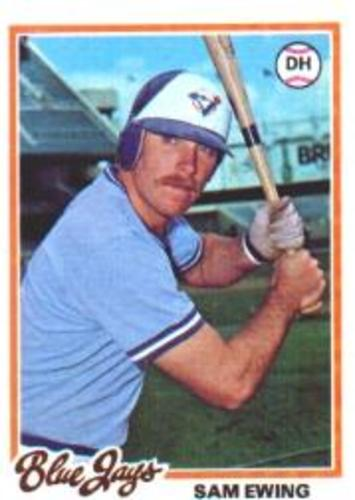 Photo of 1978 Topps #344 Sam Ewing RC
