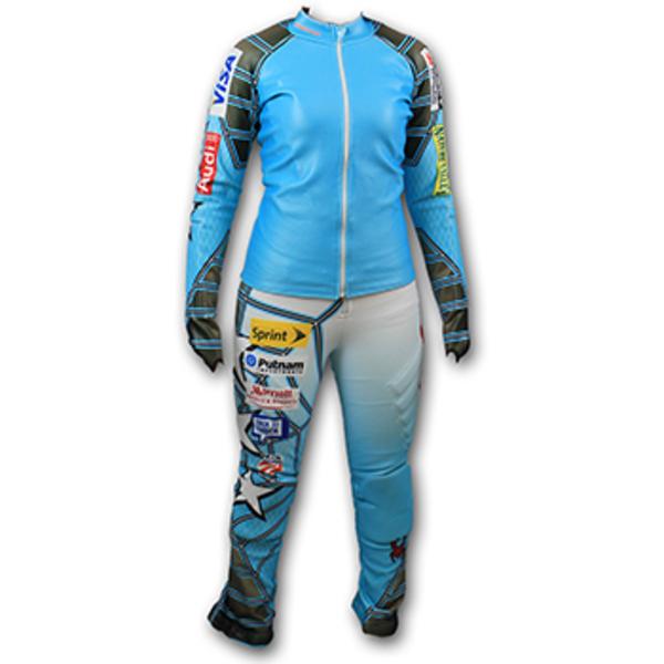 Photo of Official U.S. Ski Team Spyder Women's Slalom Race Suit (Size Large) (1 of 2)