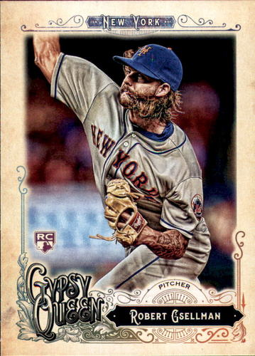 Photo of 2017 Topps Gypsy Queen #78 Robert Gsellman Rookie Card