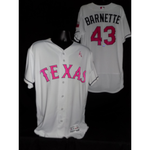 Tony Barnette 2017 Game-Used Mother's Day Jersey