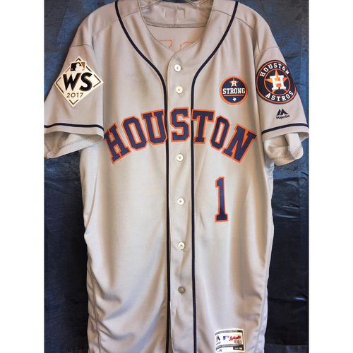 online store a4242 49cd8 MLB Auctions | World Series Game 1 - Carlos Correa Game-Used ...