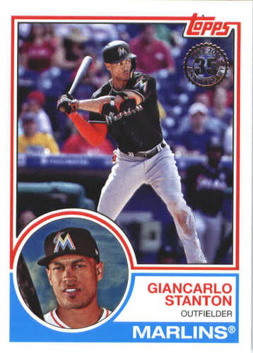 Photo of 2018 Topps '83 Topps #8322 Giancarlo Stanton