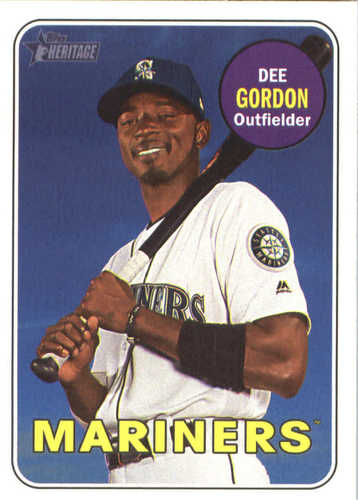 Photo of 2018 Topps Heritage #209 Dee Gordon