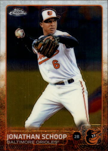 Photo of 2015 Topps Chrome #32 Jonathan Schoop