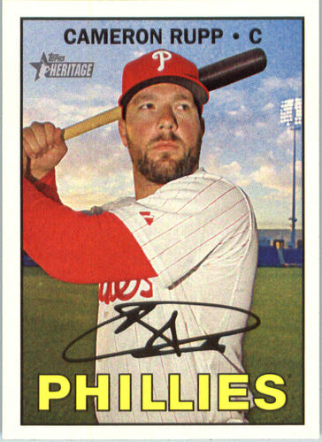 Photo of 2016 Topps Heritage #658 Cameron Rupp