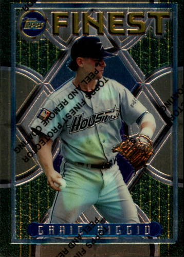 Photo of 1995 Finest #129 Craig Biggio