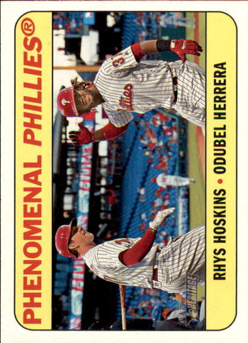 Photo of 2018 Topps Heritage Combo Cards #CC4 Odubel Herrera/Rhys Hoskins