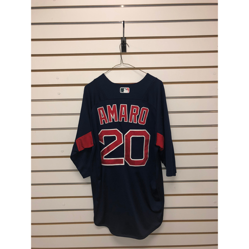 Ruben Amaro Team-Issued Road Batting Practice Jersey