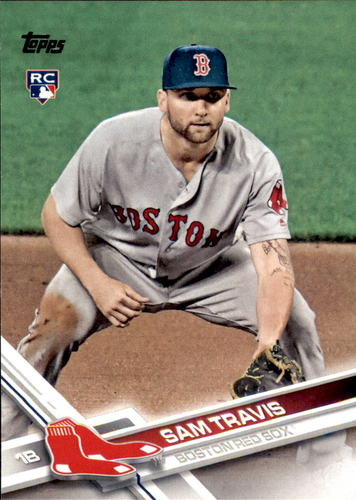 Photo of 2017 Topps Update #US289 Sam Travis Rookie Card