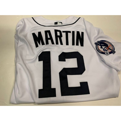 Photo of Team-Issued Jack Morris Number Retirement Jersey: Leonys Martin