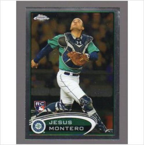 Photo of 2012 Topps Chrome #170A Jesus Montero Teal Jsy RC
