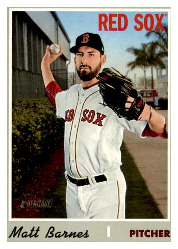 Photo of 2019 Topps Heritage #641 Matt Barnes