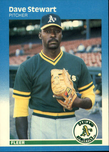 Photo of 1987 Fleer #406 Dave Stewart