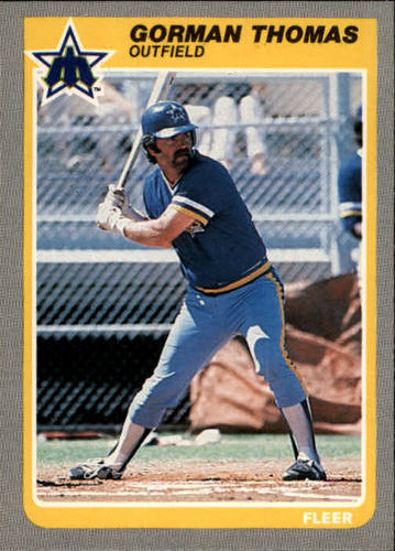 Photo of 1985 Fleer #503 Gorman Thomas