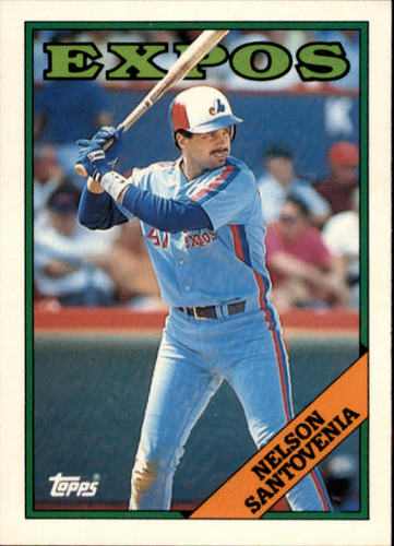 Photo of 1988 Topps Traded #102T Nelson Santovenia
