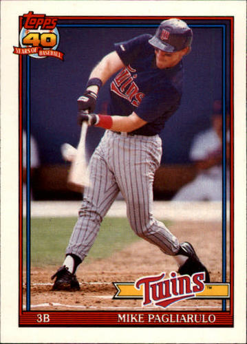 Photo of 1991 Topps Traded #87T Mike Pagliarulo