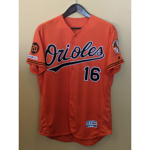 Photo of Trey Mancini - Orange Alternate Jersey: Game-Used (HR)