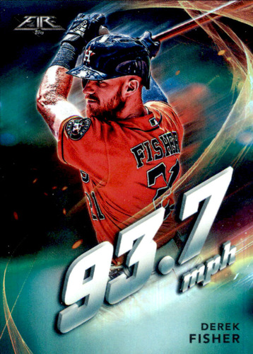 Photo of 2019 Topps Fire Maximum Velocity #MV11 Derek Fisher