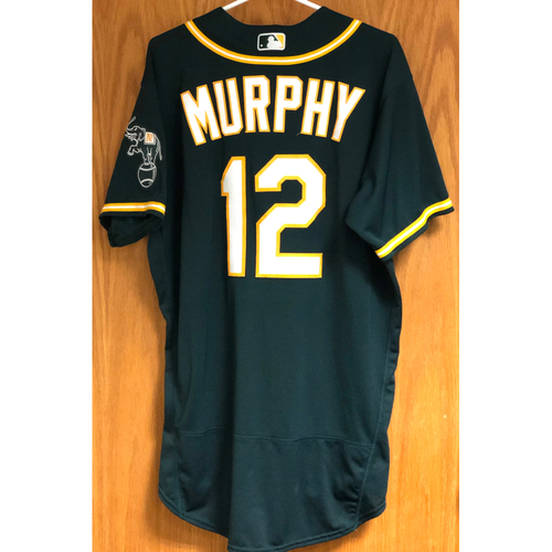 Photo of Game-Used 2020 AL Division Series Jersey - Sean Murphy (ALDS Game 3)