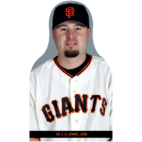 Photo of Giants Community Fund: Giants Jason Schmidt Cutout