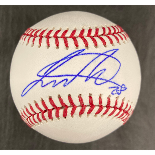 Photo of Leury Garcia Autographed Baseball