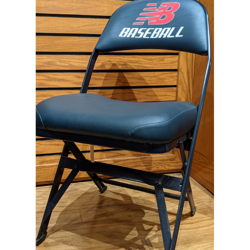 Photo of Fenway Park Visitor's Clubhouse Game Used Miguel Cabrera Locker Room Chair